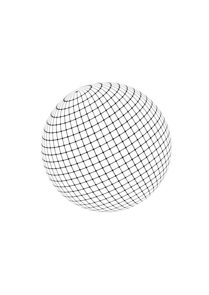bola para colorir 2