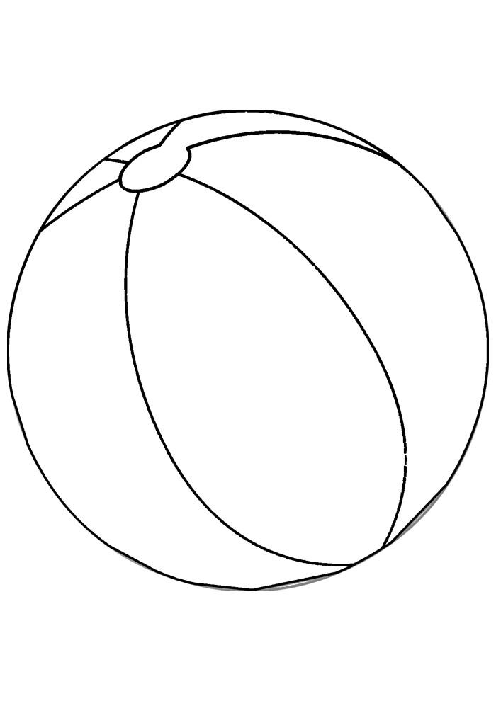 bola para colorir 5