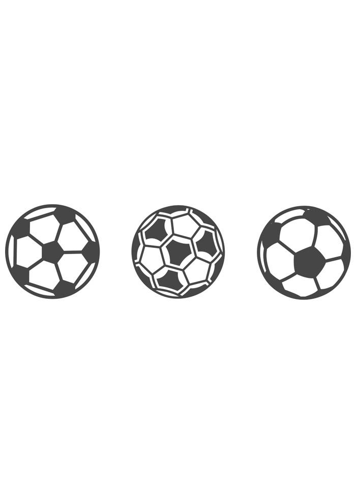bola para colorir futebol 5