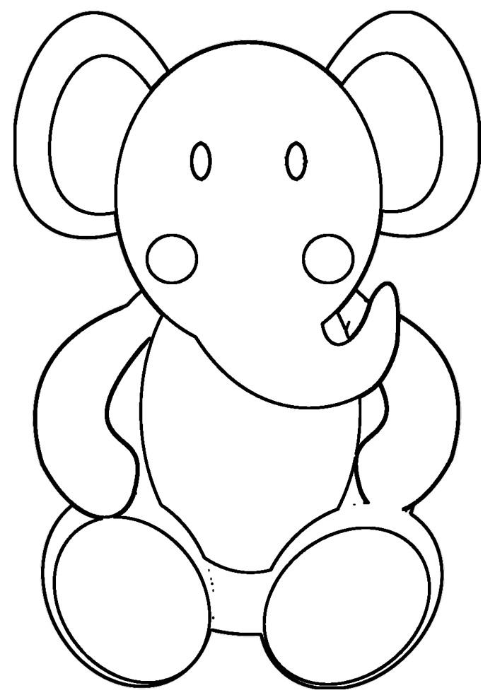 elefante para colorir 13
