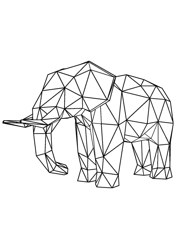 elefante para colorir 26