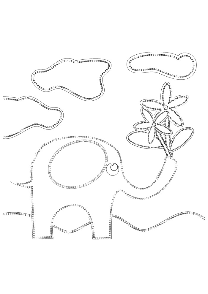 elefante para colorir 33