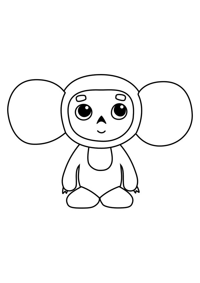 macaco para colorir 48