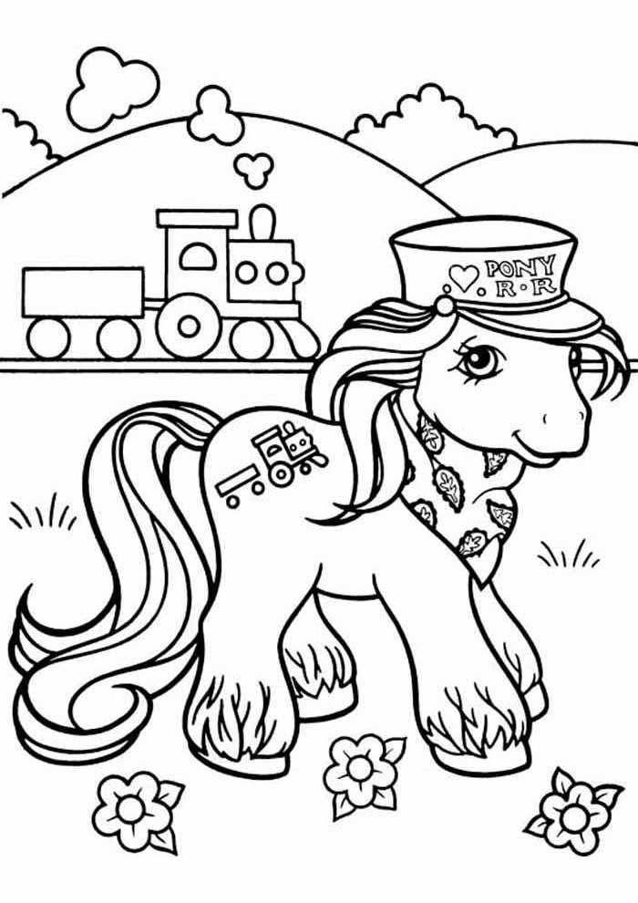 my little pony para colorir 12