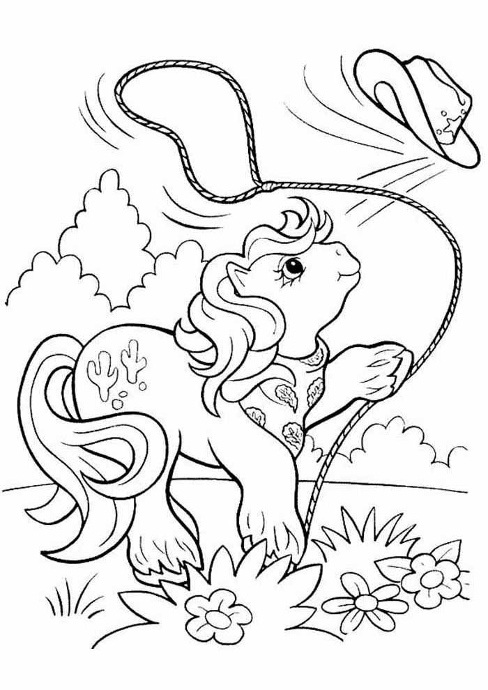 my little pony para colorir 14