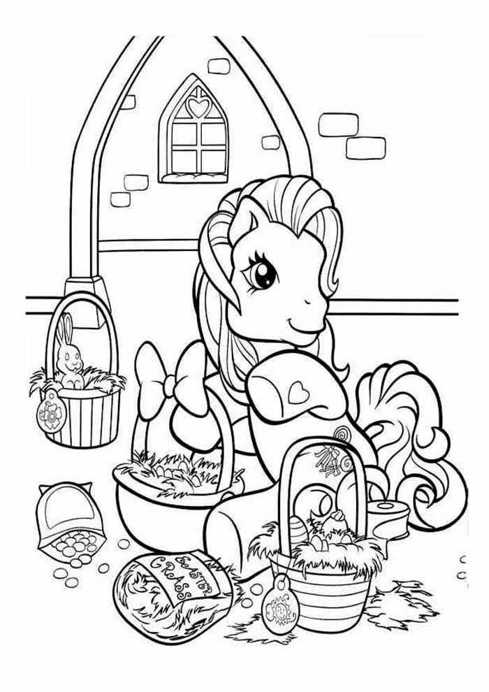 my little pony para colorir 15