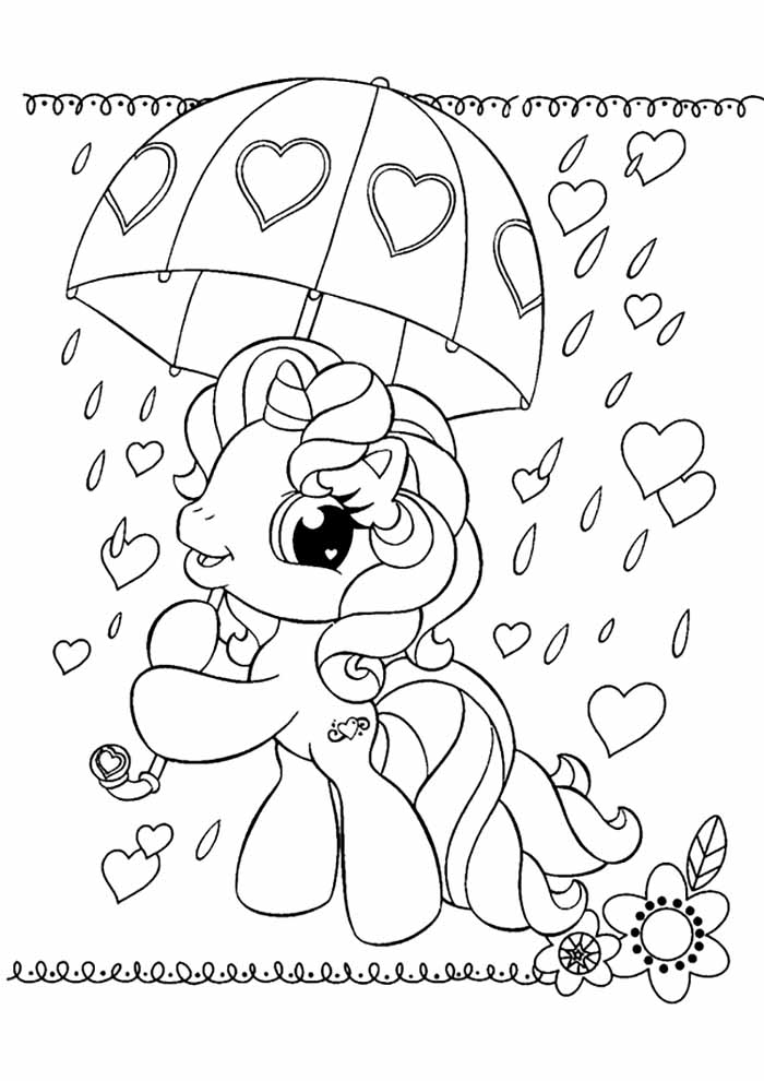 my little pony para colorir 16