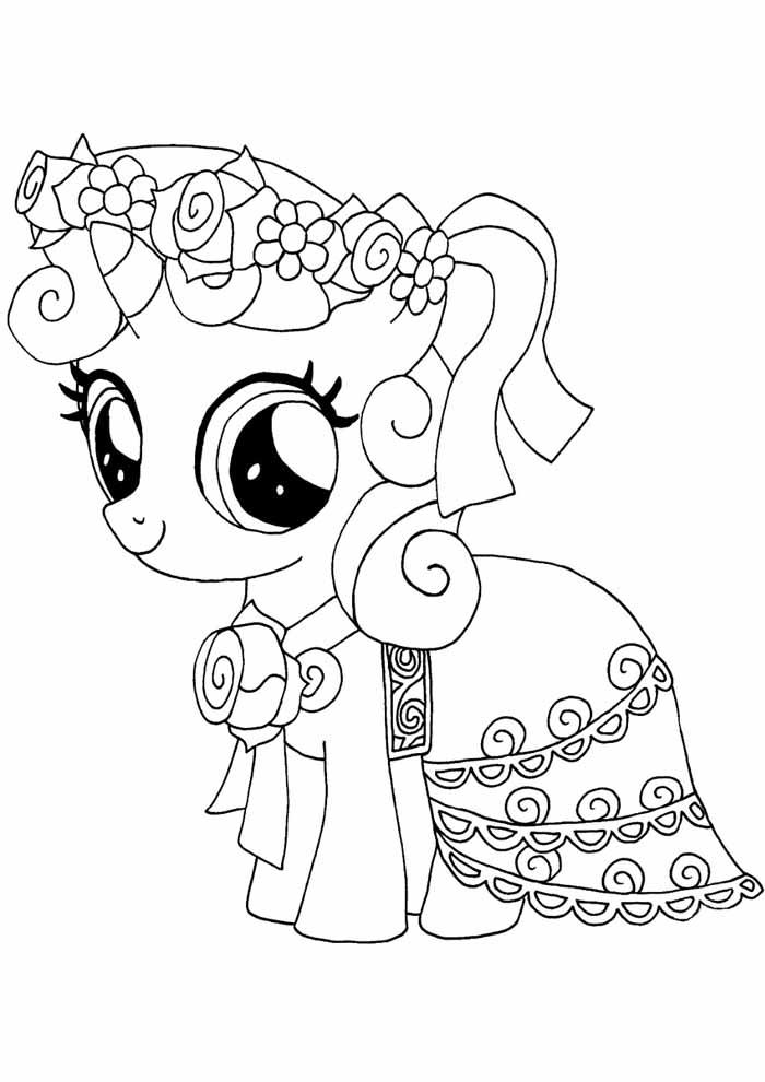 my little pony para colorir 17