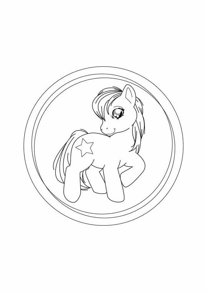 my little pony para colorir 2