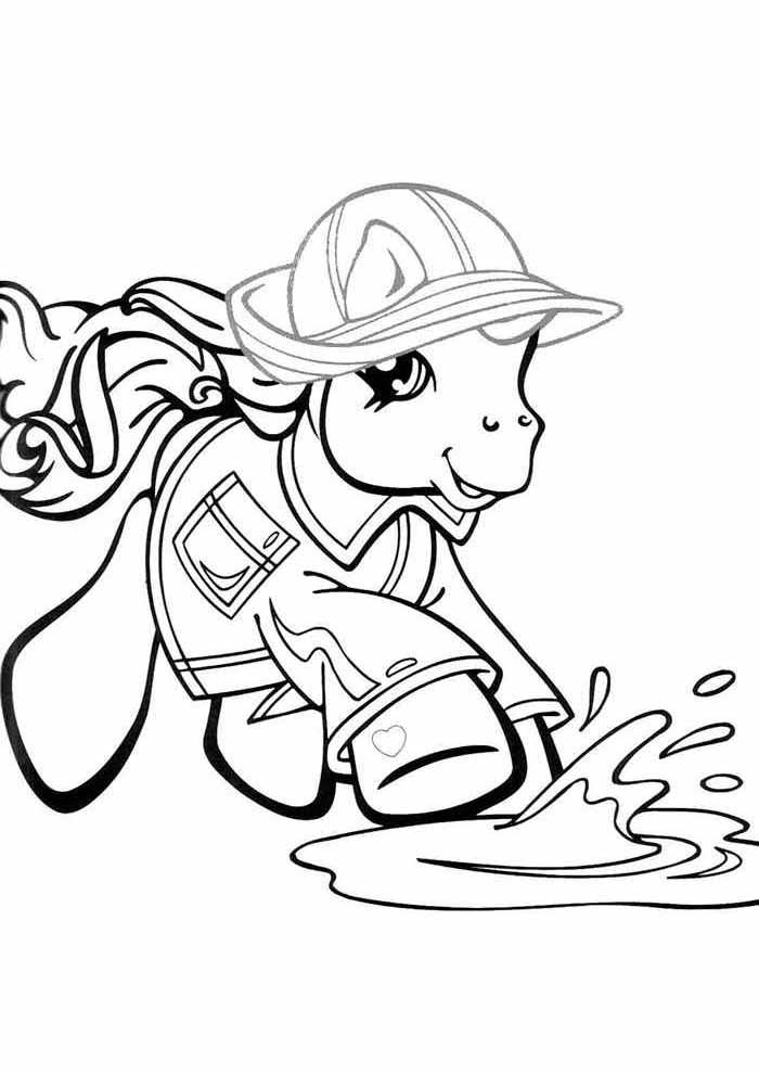 my little pony para colorir 5