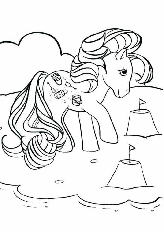 my little pony para colorir 8