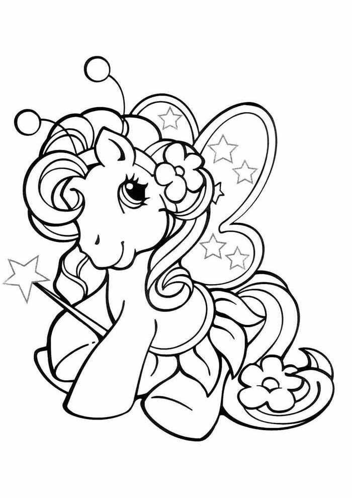 my little pony para colorir fofa