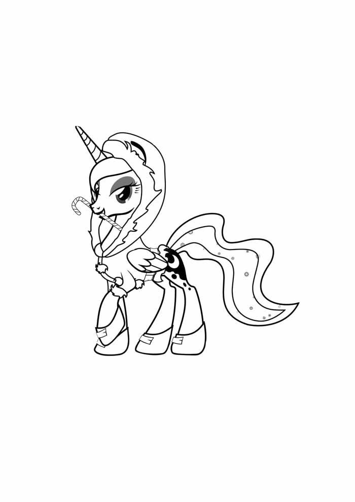 my little pony para colorir unicórnio