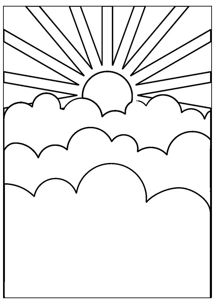 sol para colorir 32