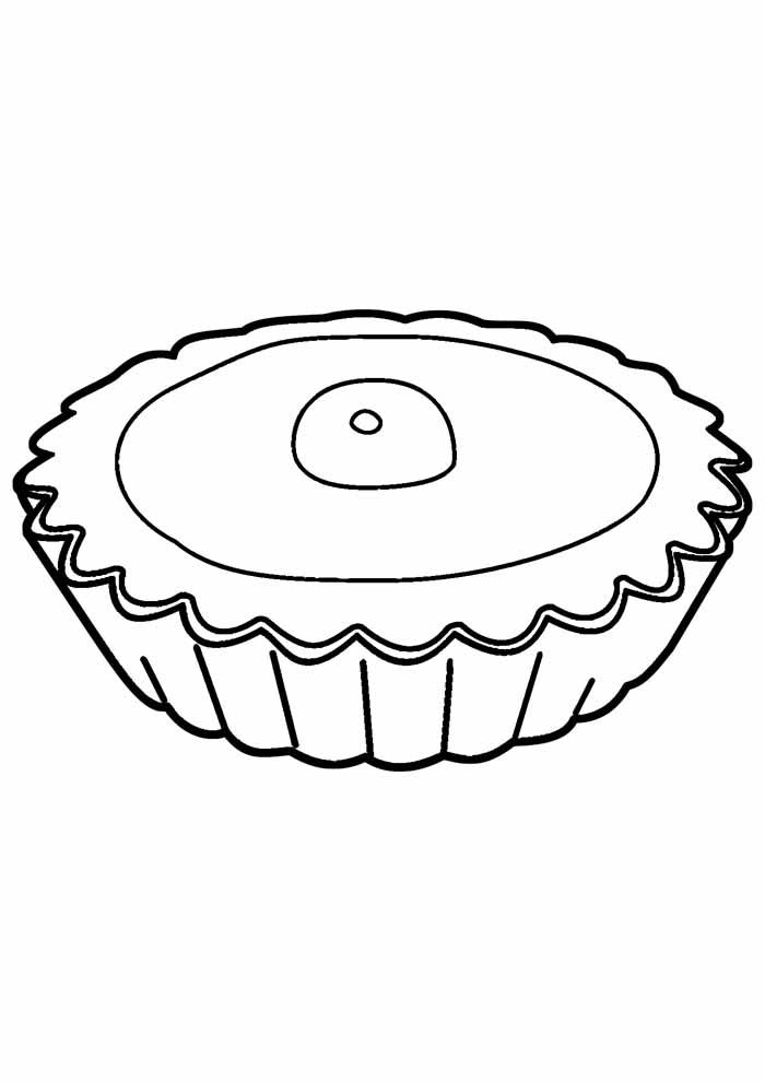 bolo para colorir 12