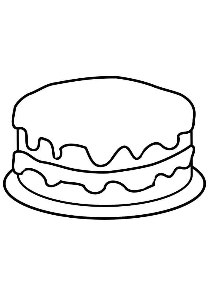 bolo para colorir 15