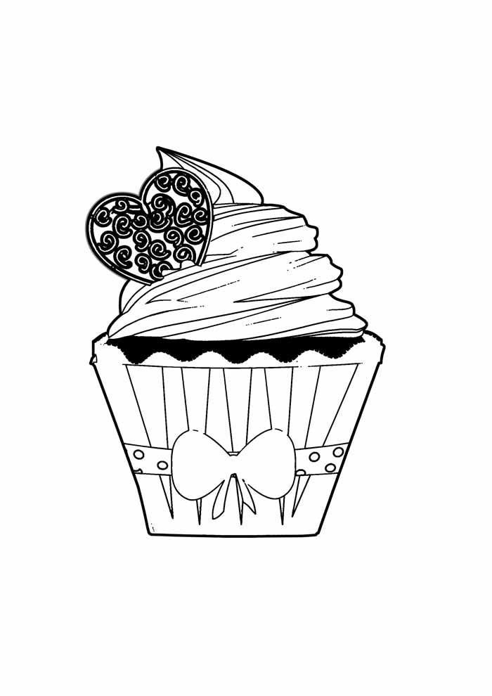 bolo para colorir 25