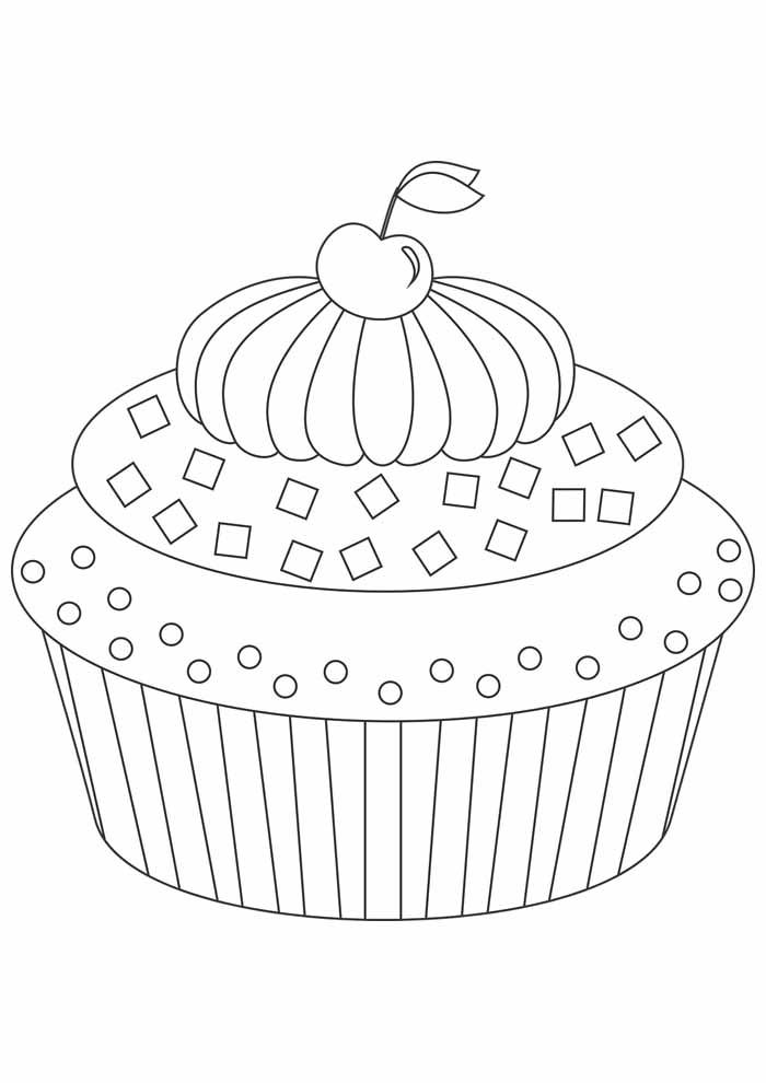 bolo para colorir 30
