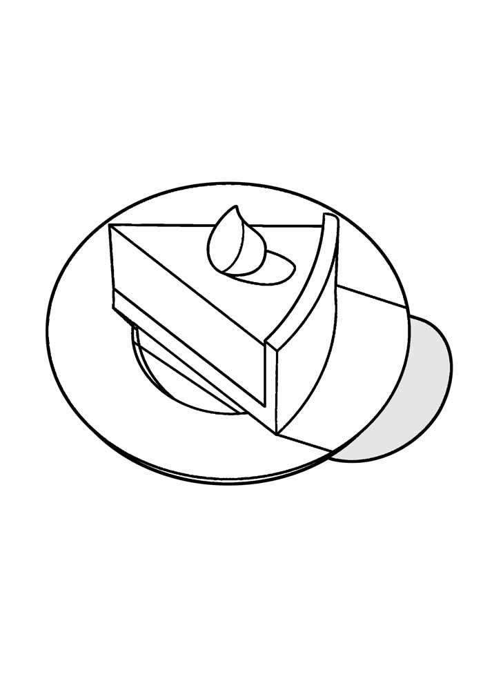 bolo para colorir 38