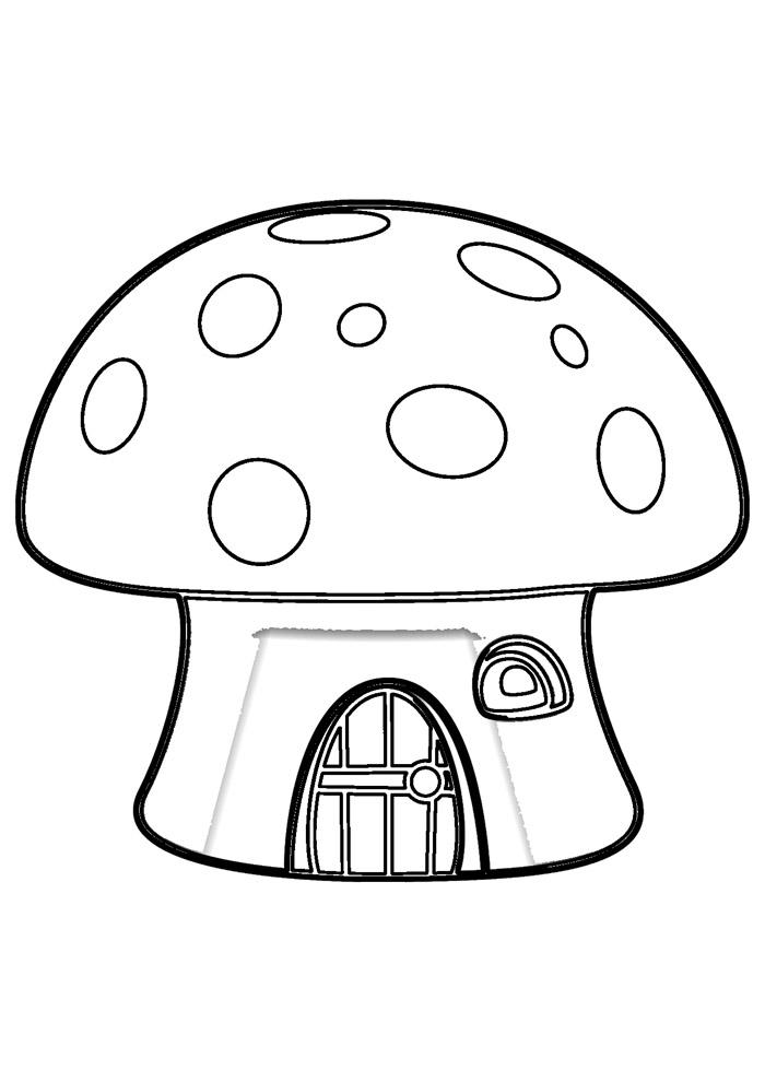 casa para colorir 23