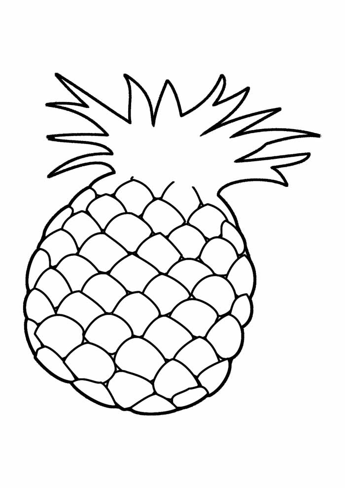 abacaxi para colorir 2