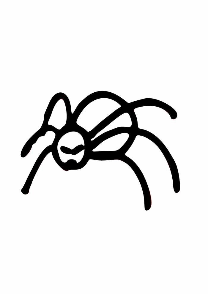 aranha para colorir 16