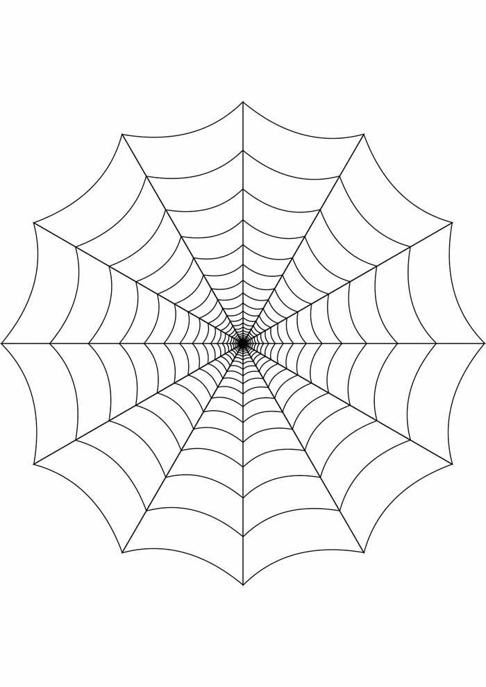 aranha para colorir 29