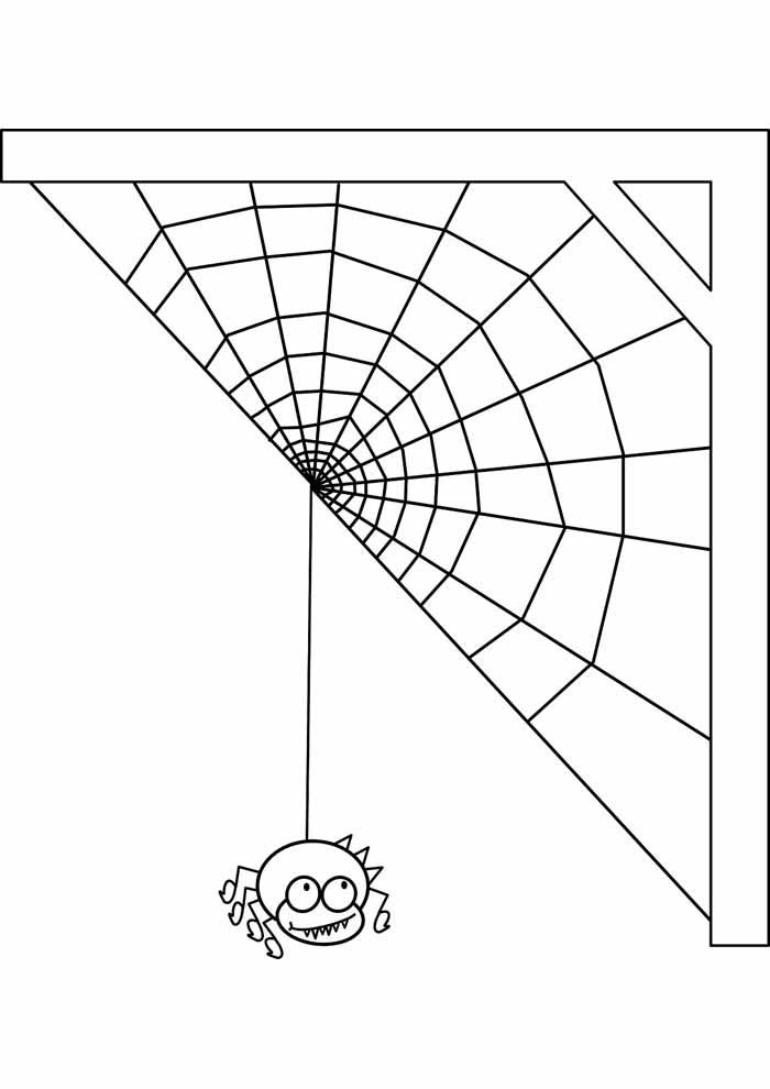 aranha para colorir 31