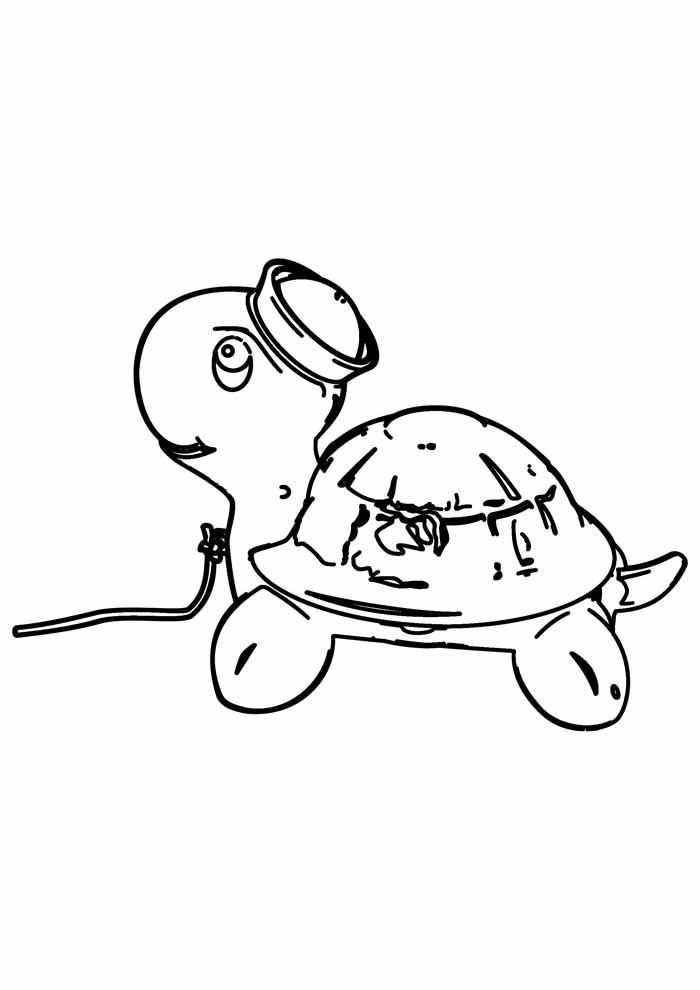 tartaruga para colorir 28