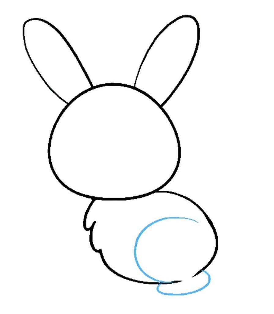 como desenhar um coelho passo 6