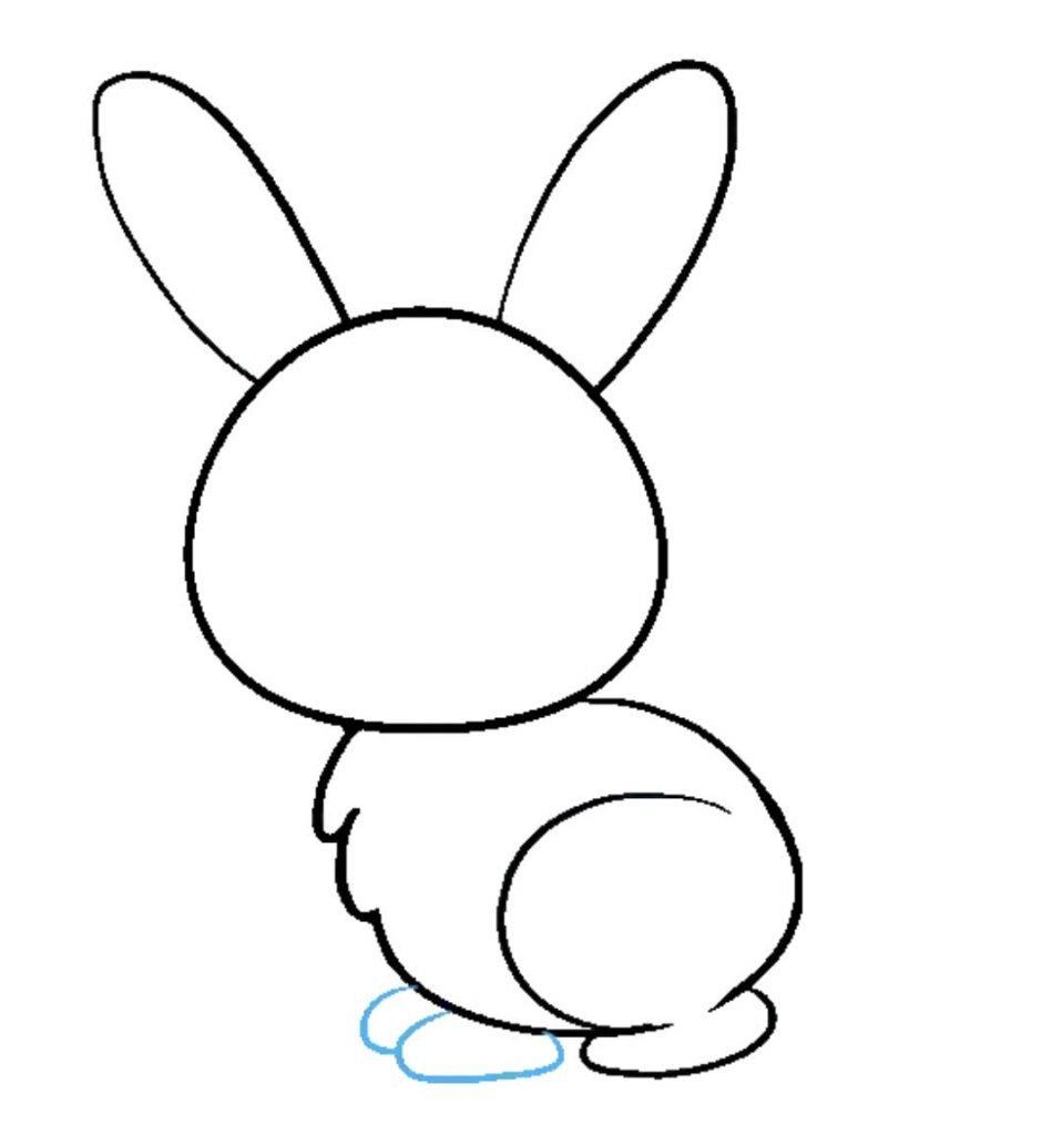 como desenhar um coelho passo 7