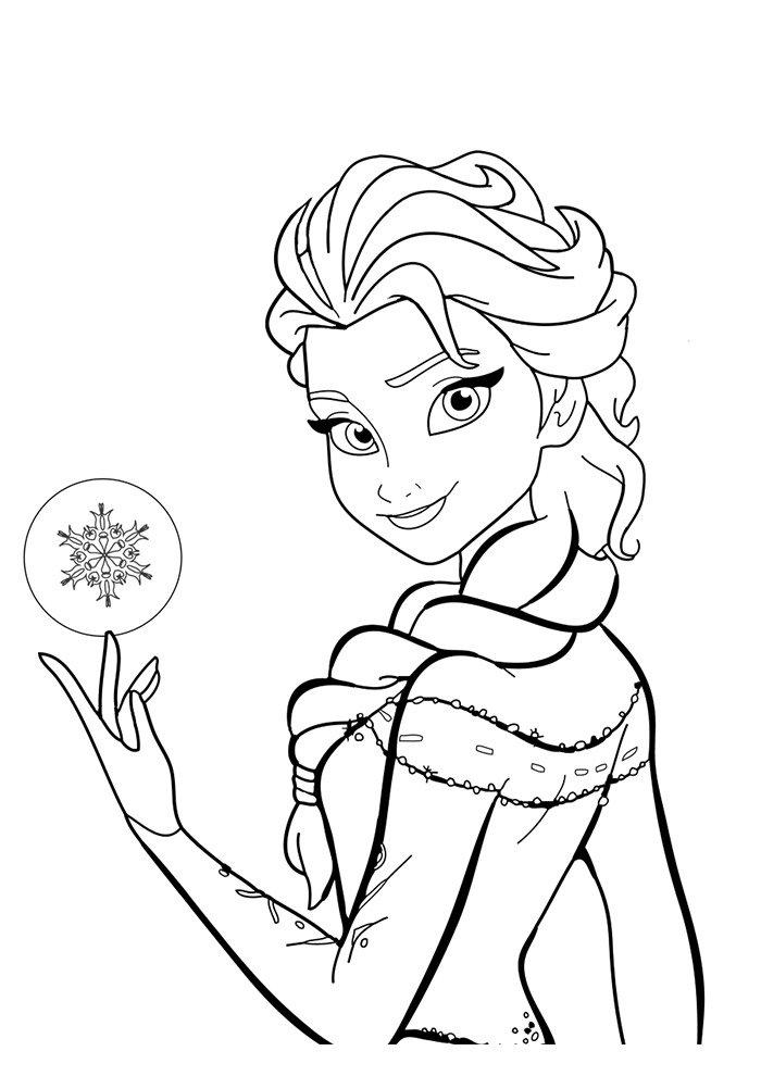 desenho disney para colorir frozen 10