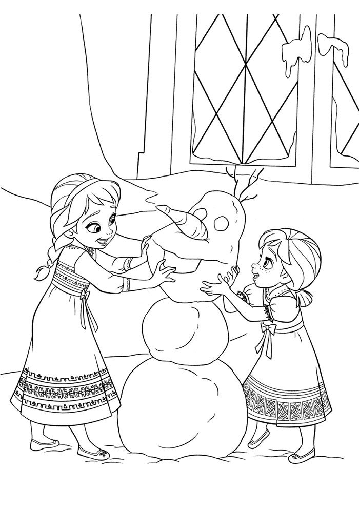 desenho disney para colorir frozen 12