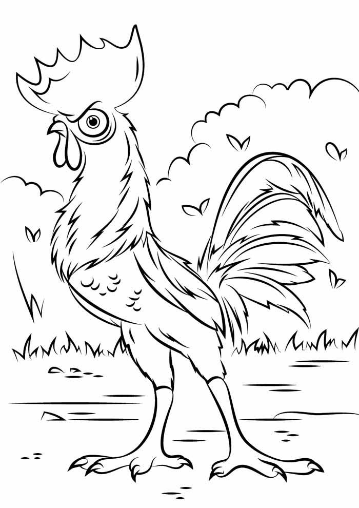desenho disney para colorir moana 11