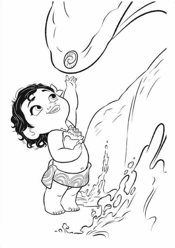 desenho disney para colorir moana 22
