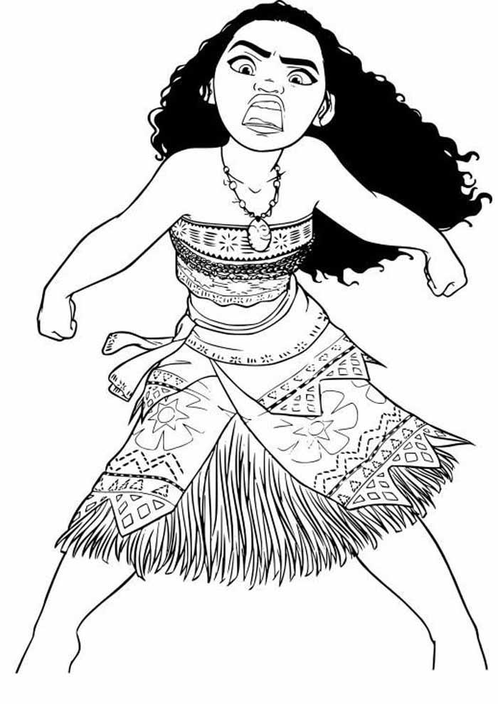desenho disney para colorir moana 31