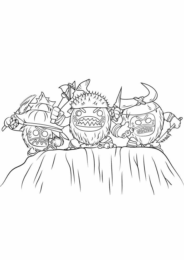 desenho disney para colorir moana 9