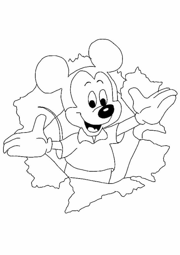 desenhos disney para colorir mickey 22