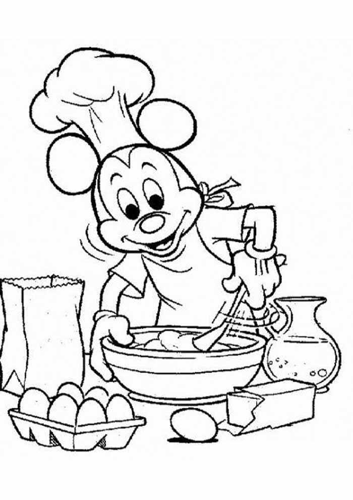 desenhos disney para colorir mickey 23