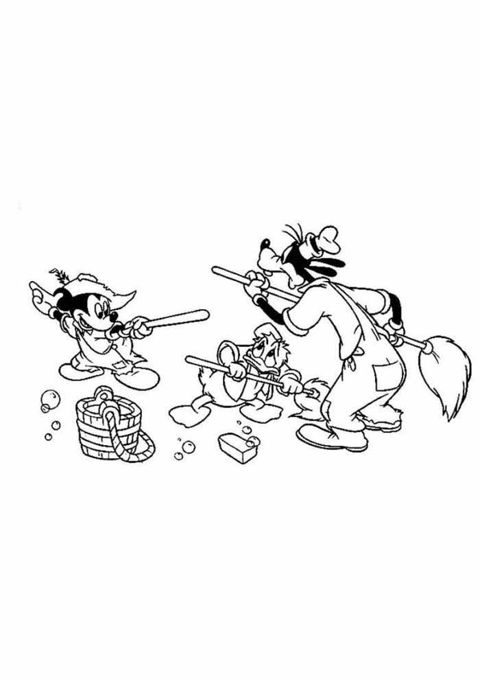 desenhos disney para colorir mickey 31