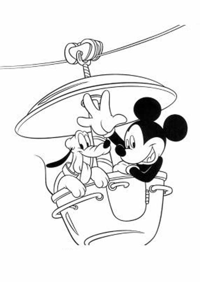 desenhos disney para colorir mickey 33