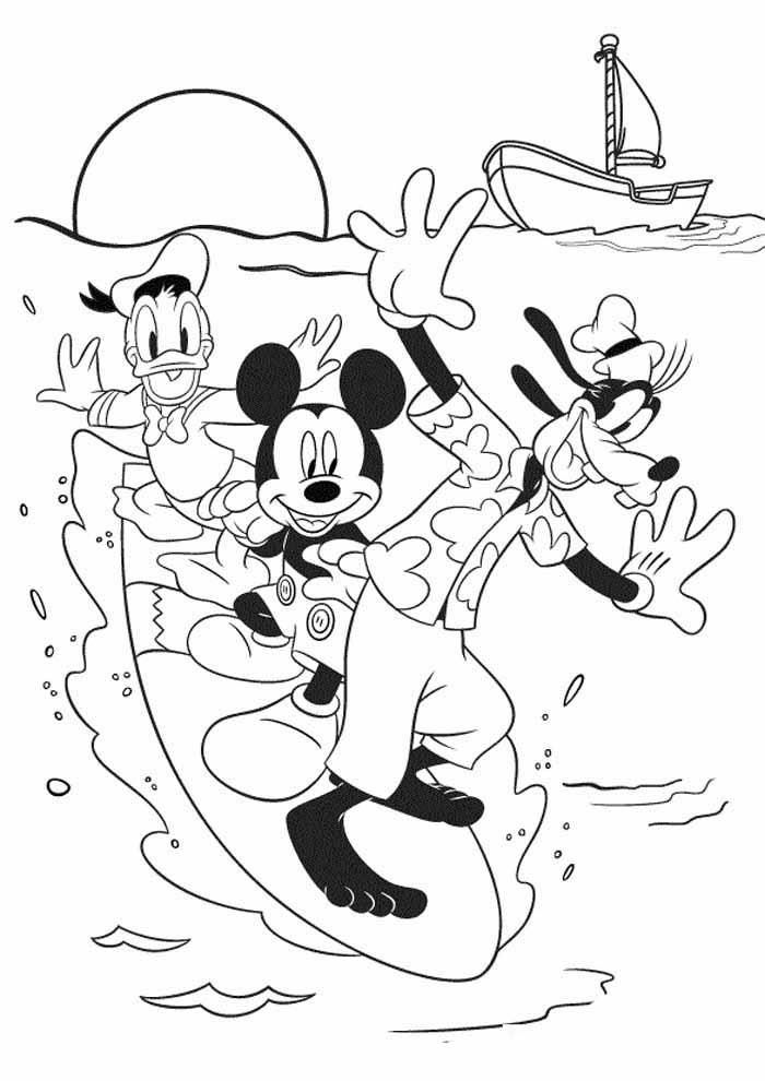 desenhos disney para colorir mickey 37