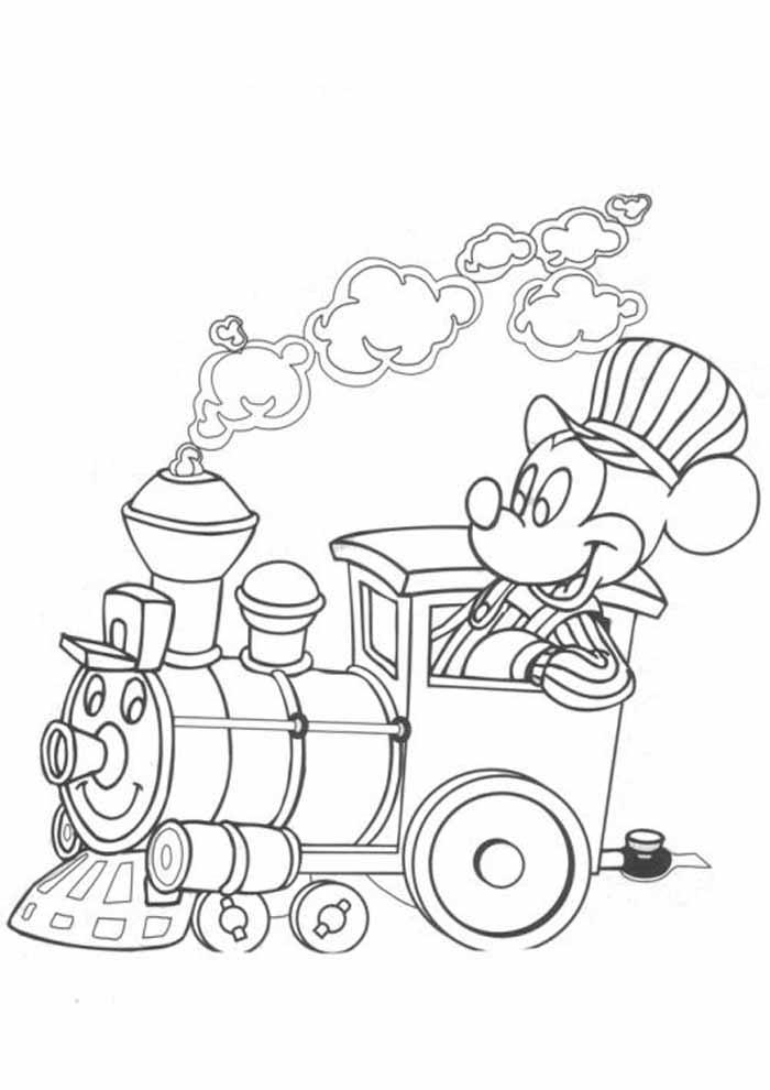 desenhos disney para colorir mickey 8