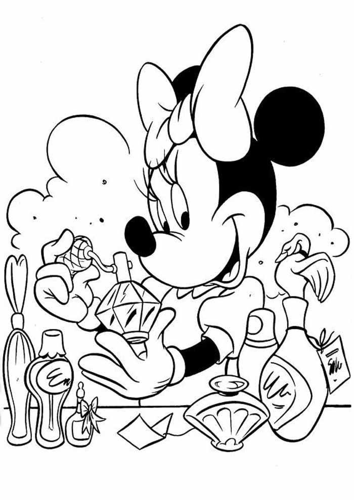 desenhos disney para colorir minnie 37