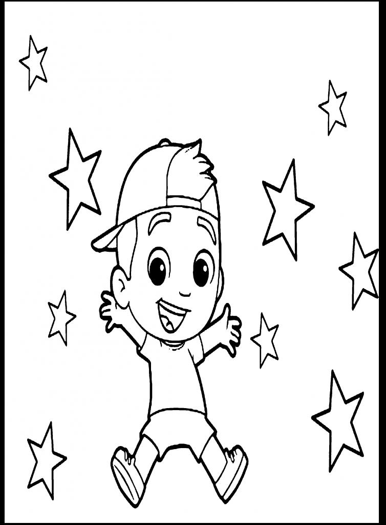 Desenho do Luccas Neto para colorir 1