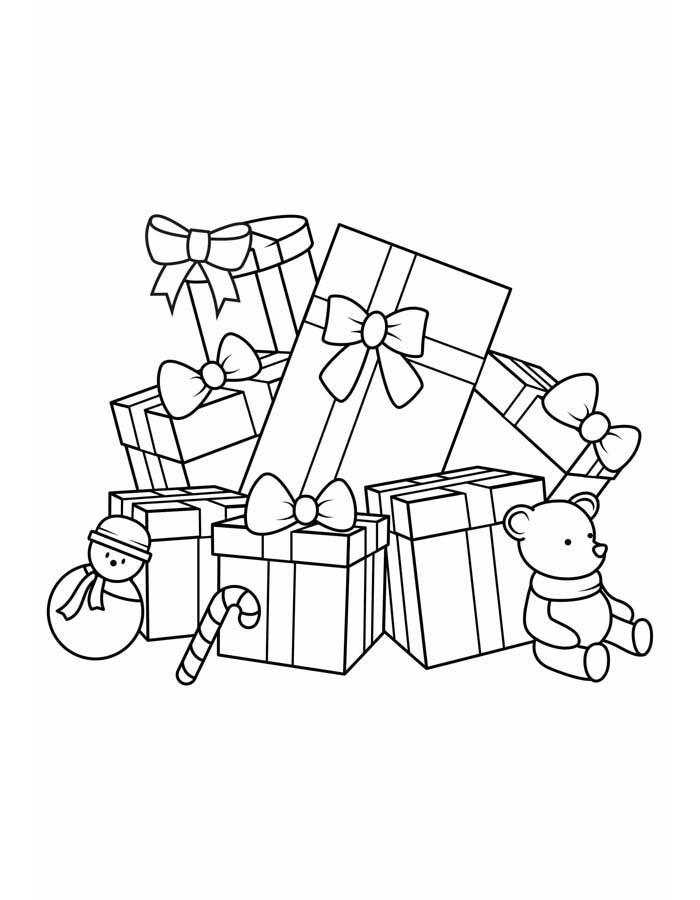 desenhos de natal 3