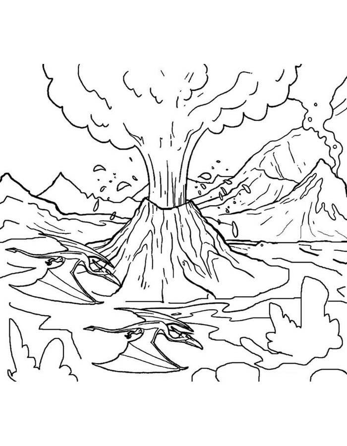 paisagem para colorir 2