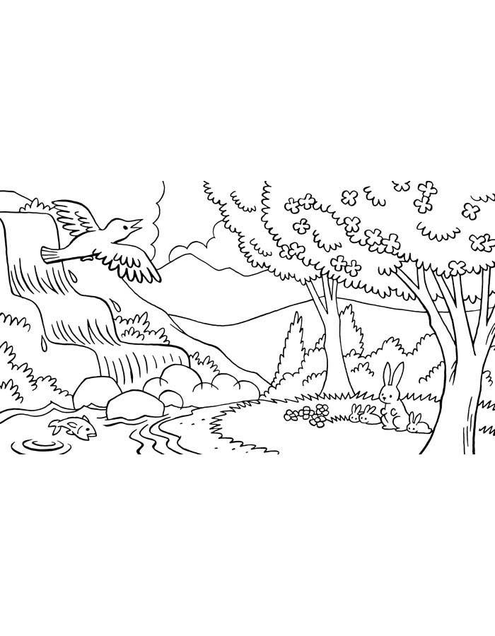 paisagem para colorir 36