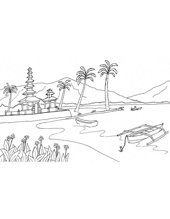 paisagem para colorir 47