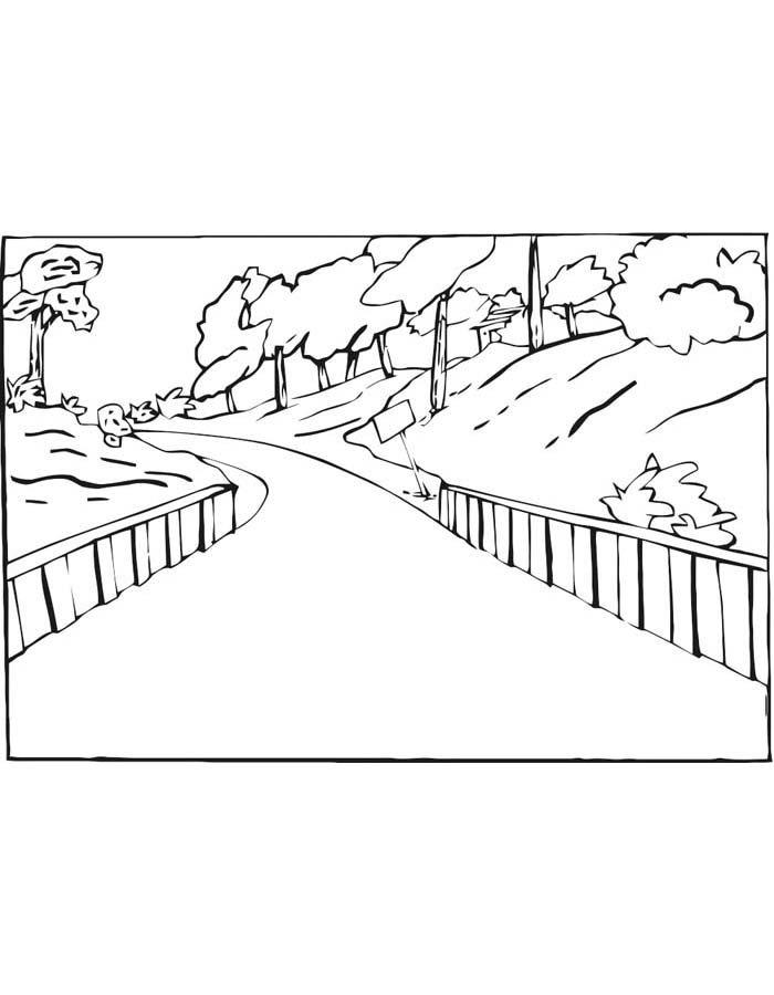 paisagem para colorir 49